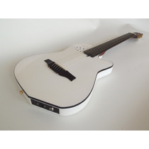 Violão Branco Estilo Godin, Marca Patrick Luthier