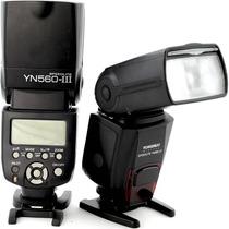 Flash Yongnuo Speedlite Yn560 P/ Canon Nikon Sony Pentax