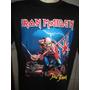 Camisa Iron Maiden Consulte O Tamanho Antes De Comprar .....