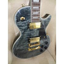 Gibson Les Paul Custom Black Quilted Maple (cn) Prta Entrega