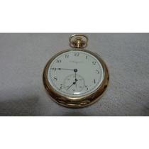 Lindo E Antigo Relógio De Bolso Made U.s.a Marca Elgin .