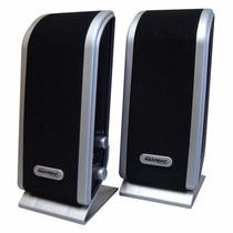Caixa De Som Multimídia Slim Usb 3w Rms, Cabo P2 - Maxprint