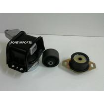 3 Coxim Motor E Cambio Peugeot 307 2.0 16v