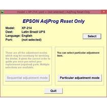 Reset Epson Xp214 - Erro Absorvente Cheio