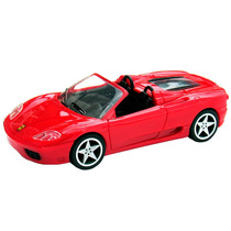 Carrinho Miniatura Ferrari 360 Spider Shell 1/38 Hot Wheels