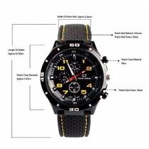 Relógio Esportivo F1 Gt Speed Racer Men Super Barato