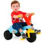 Triciclo Infantil Masculino Elefantinho - Azul Com Vermelho