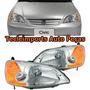 Par Farol Honda Civic Ano 2001 2002 2003 Depo Produto Novo