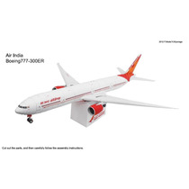 Avião Boeing777-300er Aeronave Airbus A320 Aeroporto Maquete