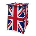 Banco Mesa Centro Dobrável Com Bandeira Reino Unido Uk E Mdf