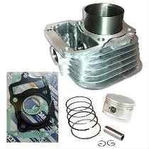 Kit Cilindro Motor Titan 99/xlr C/pistão/aneis E Juntas