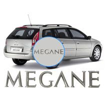 Letreiro Megane P/ Traseira Renault Meganne Grand Tour/sedan