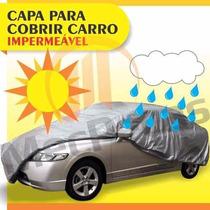Kit Capa Cobrir Corolla + Protetor Solar Automotivo
