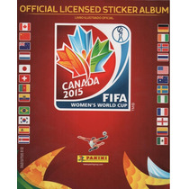 Álbum Copa Do Mundo Feminina 2015 - Mundial Feminino - Comp