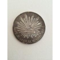 Moeda De Prata Antiga Mexicana 1888 - 28g