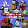 Thomas E Seus Amigos De Mesa ,personal, Festa Infantil,mdf