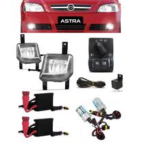 Kit Farol Milha Arteb Astra 2003 04 05 06 07 08 + Com Xenon