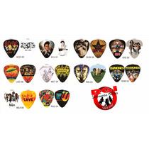 Kit Com 10 Palhetas Personalizadas Hoot Rock - Frete Grátis