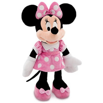 Pelúcia Minnie Mouse Plush Disney Novo E Original