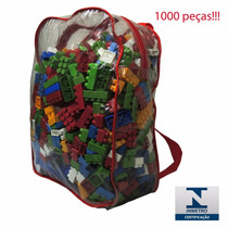 Blocos De Montar 1000 Peças Lego Bloquinhos Brinquedo