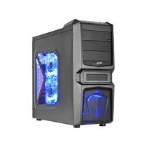 Gabinete Desktop Gamer Sentey Gs-6050 Halcon Ii Preto