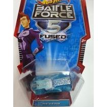 Hot Wheels Battle Force 5 Fused - Reverb Azul