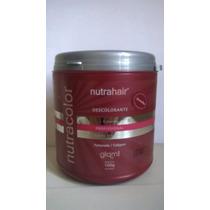 Pó Descolore E Colore - Nutra Hair 100g + Brinde