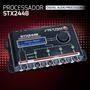 Processador De Audio Digital Equalizador Stx2448 Stetsom