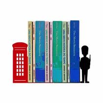 Aparador De Livros Londres - Geguton