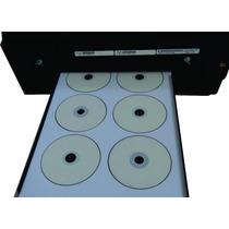 Kit Bandeja 6 Cd Dvd Blu-ray Hp 7110 Impressora A3