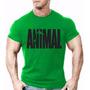 Camiseta Animal Camisa Malhar Treino Academia Musculação