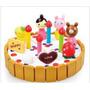Bolo De Aniversário Cozinha Brinquedos De Madeira Crianças