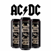 Pack Cerveja Banda Ac/dc 3 Latas 568ml Rock Or Bust