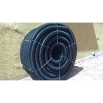 Tubo Flexivel Corrugado P/ Drenagem 100 Mm Em Pead