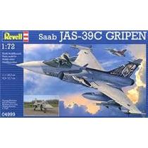Modelo Jet Fighter - Revell Rv125 1:72 Saab Jas 39c Gripen