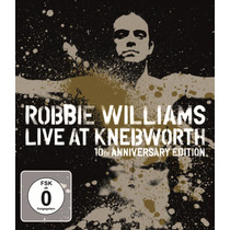 Robbie Williams - Live At Knebworth 10th [cd+dvd+bd] Frete G