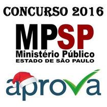 Mpsp Mp Sp Ministerio Publico São Paulo Pedagogo Aprova 2016