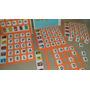 Jogo Loto Leitura Braille Eva Plástico 6 Placas 120 Letras