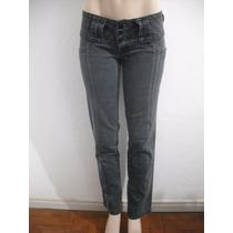 Calça Jeans Feminina Xadrez Bivik Tam 38 Usado Bom Estado
