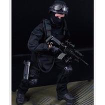 Boneco Atirador De Elite Acu 30cm - Swat... O Combate Final