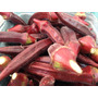 Quiabo Vermelho Burgundy Roxo Sementes Para Mudas + Brinde