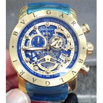 Relógio Bv-homen De Ferro-laçamento