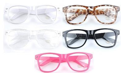 5df40b867 Armação P/ Óculos De Grau. Retangular Grande Geek Nerd Retrô à venda ...