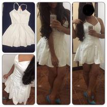 Vestilo Curto, Dress To, Rodado, Bege, Tamanho 38
