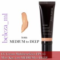 Cc Cream Multibenefícios Fps 15 Mary Kay Tom Medium To Deep