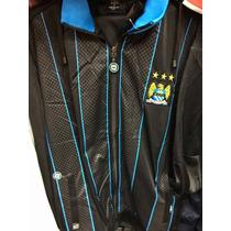 Agasalho Blusa + Calça Manchester City