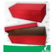 50 Caixas Montadas De Papel Coloridas 15,0 X 6,0 Cm