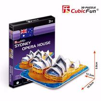 Quebra Cabeça Puzzle 3d Sydney Opera House Presente Hobbie