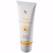 Protetor Aloe Sunscreen Forever Living Protetor Solar Fps 30