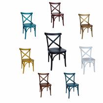 Cadeiras Em Madeira, Madeiradas Ou Coloridas